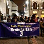 Periodistas: Familiares de secuestrados en reunión con presidente de Ecuador