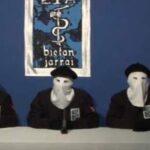 Organización terrorista ETA anuncia disolución en una carta