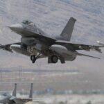 Un F-16 de las Fuerzas Aéreas de EE.UU. se estrella en el estado de Nevada