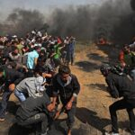 Tres palestinos muertos y 250 heridos por Ejército en protestas en Gaza