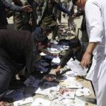 Afganistán: 57 muertos dejaataque terrorista suicida en un centro electoral (VIDEO)
