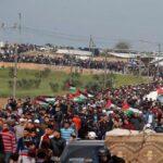 Palestinos se preparan para nueva protesta multitudinaria en frontera de Gaza