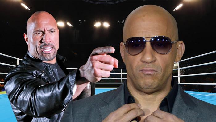 'La Roca' reveló detalles de su incomoda relación con Vin Diesel