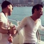 El sensual baile de Marc Anthony y Prince Royce se viraliza en las redes (VIDEO)
