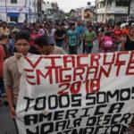 Caravana Migrante Víacrucis se dirige hacia Tijuana en su marcha a EEUU para pedir asilo (VIDEO)
