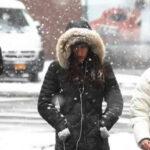 EEUU: Pronostican fuertes nevadas este lunes en Nueva York y Nueva Jersey