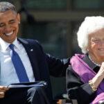 EEUU: Emotivo mensaje de Barack Obama yMichelle por el fallecimiento de Barbara Bush