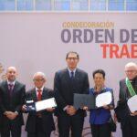 Día del Trabajador: Entregan condecoración 'Orden del Trabajo'