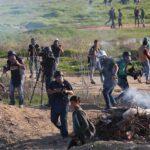 Hamás acusa a Israel de ir contra periodistas palestinos que cubren protestas
