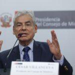 César Villanueva: Gobierno agilizará y descentralizará la inversión