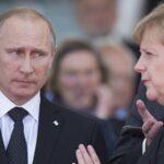 Putin le dice a Merkel que es inadmisible acusar a Siria de ataque químico ( VIDEOS)