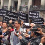 Quito: ANP acompañó a familiares de periodistas ecuatorianos asesinados