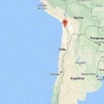 Sismo de magnitud 5 en escala Richter sacude dos regiones del norte de Chile
