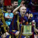 Andrés Iniesta anuncia que dejará el Barza a final de temporada