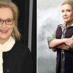 """Miles de fans de """"Star Wars"""" piden que Meryl Streep sea la nueva princesa Leia (VIDEO)"""