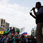 Telegram: Miles de personas exigen en Moscú libertad de internet
