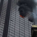 Un muerto y cuatro heridos leves por incendio en la Torre Trump