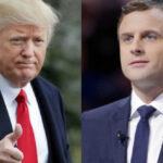 Macron advierte a Trump : Hacer una guerra comercial 'contra todos' no funciona (VIDEO)