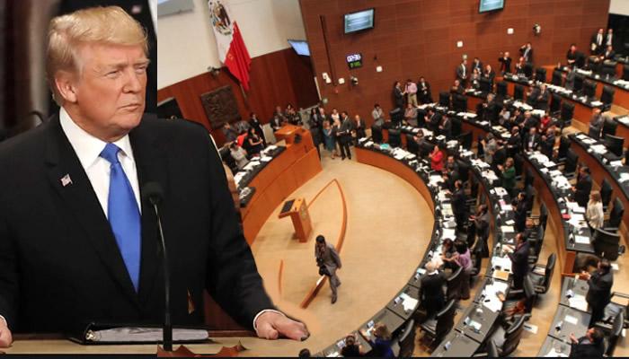 México le dice a Trump que negociará con EU, pero sin miedo