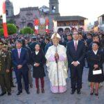 Semana Santa: Vizcarra participó en misa y procesión en Ayacucho