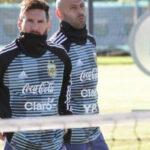 Selección argentina: Lionel Messi se incorpora a los entrenamientos en Ezeiza