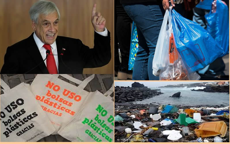 Gobierno envió indicación al Congreso para terminar con las bolsas plásticas