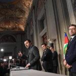 Nuevo gobierno italiano: Mano dura con inmigrantes y renta básica de 780 euros al mes (VIDEO))
