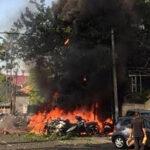 Indonesia: 4 muertos y 10 heridos en explosión de bomba en comisaría (Videos)