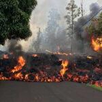 Hawaii: Evacuación total en zona residencial por otra fisura que abrióerupción del volcán Kilauea (VIDEO)
