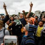 Caravana de migrantes Víacrucis festeja los ocho primeros ingresos a EEUU (VIDEO)