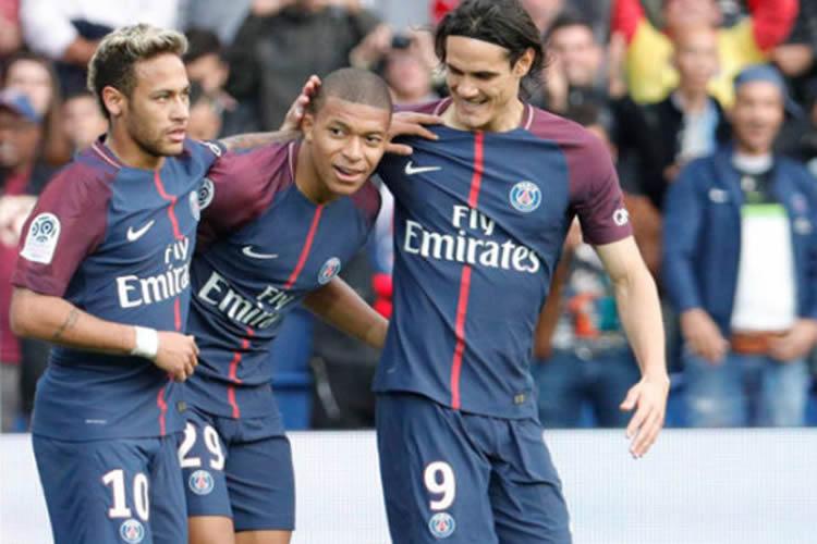 Neymar, el Mejor Jugador de la Ligue 1