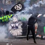 Francia: Violentos disturbios en manifestación del 1 de mayo dejan más de200 detenidos (VIDEO)