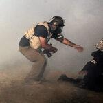 55 periodistas que cubren protestas en Gaza han sido atacados por soldados de Israel