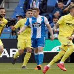 Liga Santander: Villarreal golea 4-2 al Dépor y el Sevilla empata 2-2 con Betis