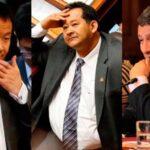 Kenji Fujimori, Bocángel y Ramírez serían desaforados este miércoles