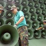 Ejércitos de las dos Coreas retiran altavoces de propaganda psicológica en la frontera