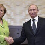 Putin y Merkel coinciden en la importancia de mantener acuerdo nuclear con Irán