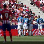 Espanyol vuelve a romper una racha invicta del Atlético de Madrid