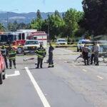 EEUU:Avioneta se estrella en carretera cerca del aeropuerto y mueren piloto y pasajero
