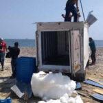 Ica: Interceptan camión frigorífico que transportaba 329 kilos de cocaína de alta pureza
