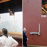 Rusia: Ebrio daña famosa obra renacentista sobre el zar Iván el Terrible (VIDEO)