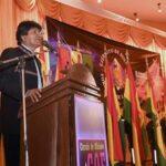 Evo Morales: Gracias a los inmigrantes países como Argentina pueden comer
