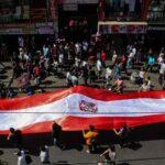 """Gamarra elabora """"Bandera Guerrera"""" en honor a Paolo Guerrero (FOTOS)"""