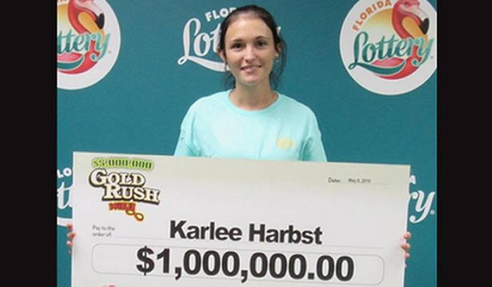 Embarazada gana US$ 1 millón de Lotería de la Florida poco antes del Día de la Madre — EEUU