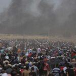 Ascienden a 52 los palestinos muertos en las protestas en la frontera de Gaza