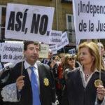 España: 30 magistrados supremos apoyan peticiones de jueces y fiscales huelguistas (VIDEO)