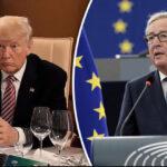 UE ofrece a Trump bajar impuestos a los autos si anula aranceles al acero y aluminio
