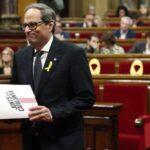 Presidente catalán nombra como consejeros a dos encarcelados y dos huidos