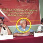 Líder Sindical Alfredo Lazo Peralta, ha muerto