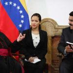 Venezuela: Presidente Maduro recibe a representante del Vaticano Aldo Giordano (VIDEO)